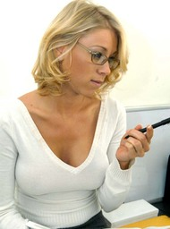 Co-worker Porn Video with Big Tits and Blonde scenes
