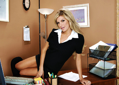 Kendall Brooks & Charles Dera in Naughty Office - Centerfold