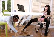 Lana Rhoades & Johnny Castle in Naughty Office