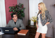 Lexi Belle & Billy Glide in Naughty Office - Sex Position 1