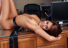 Lyla Storm & Mikey Butders in Naughty Office - Centerfold