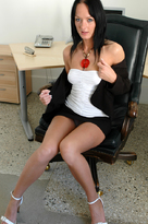 Melissa Lauren &  in Naughty Office - Centerfold