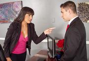 Mercedes Carrera & Brad Knight in Naughty Office - Sex Position 1