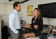 Nikki Sexx & Johnny Castle in Naughty Office - Sex Position 1