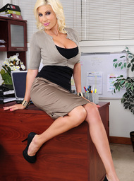 Puma Swede & Johnny Castle in Naughty Office - Centerfold