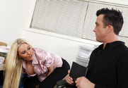 Riley Evans & Billy Glide in Naughty Office