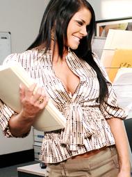 Savannah Stern & Chris Johnson in Naughty Office - Centerfold