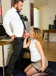 Shauna Skye & Chad White in Naughty Office - Centerfold