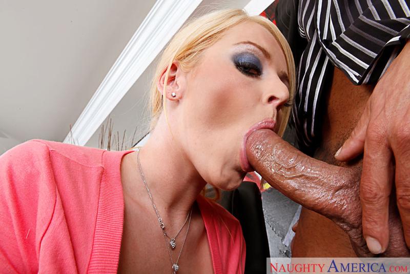 Porn star Sophie Dee fucking hard