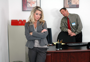 Tessa West & Jack Lawrence in Naughty Office - Sex Position 1
