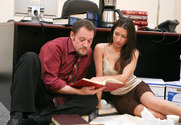 Ann Marie Rios & Rocco Reed in Naughty Office - Sex Position 1