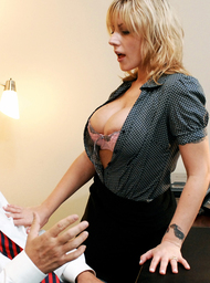 Velicity Von & Tom Byron in Naughty Office - Centerfold
