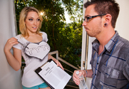Lily LaBeau & Dane Cross in Naughty Rich Girls - Sex Position 2