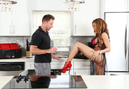 Luna Star & Levi Cash in Naughty Rich Girls story pic