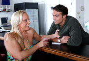 Alexis Golden & Rocco Reed in Seduced By A Cougar story pic
