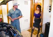 Alyssa Lynn  & Preston Parker in Seduced by a Cougar - Sex Position 1