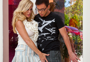 Amber Lynn & Dane Cross in Seduced By A Cougar story pic