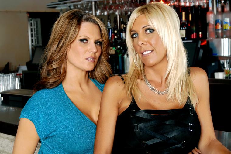 Elle Cee and Misty Vonage