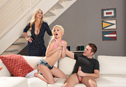 Elsa Jean & Julia Ann & Ryan Ryder in Seduced By A Cougar story pic