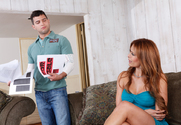 Monique Fuentes & Mikey Butders in Seduced By A Cougar story pic