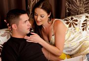 Samantha Ryan & Kris Slater in Seduced by a cougar - Sex Position 1