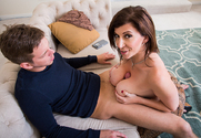 Sara Jay & Markus Dupree in Seduced By A Cougar sex pic