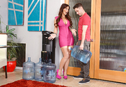 Syren De Mer & Brad Knight in Seduced By A Cougar story pic