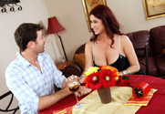 Tiffany Mynx & James Deen in Seduced by a Cougar - Sex Position 1