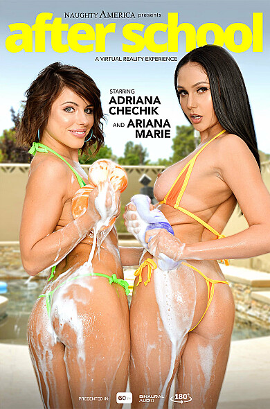 Watch Ariana Marie enjoy some American and Ass smacking!