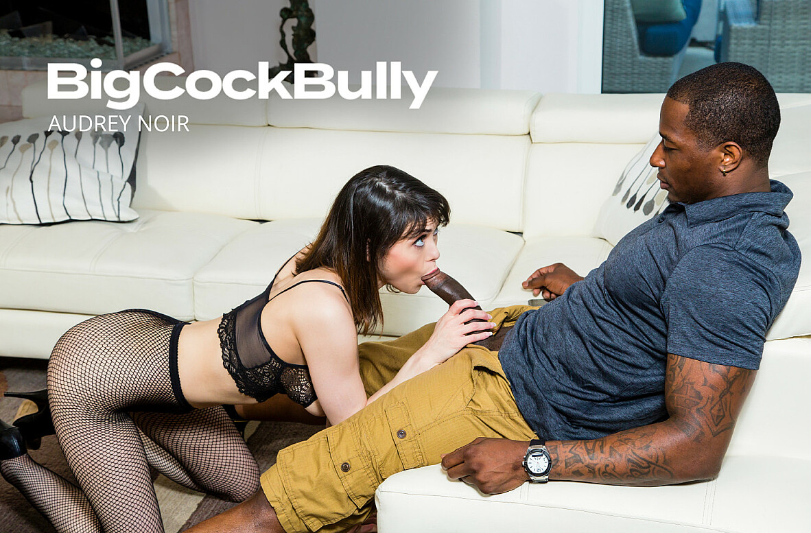Watch Audrey Noir and Rob Piper 4K video in Big Cock Bully