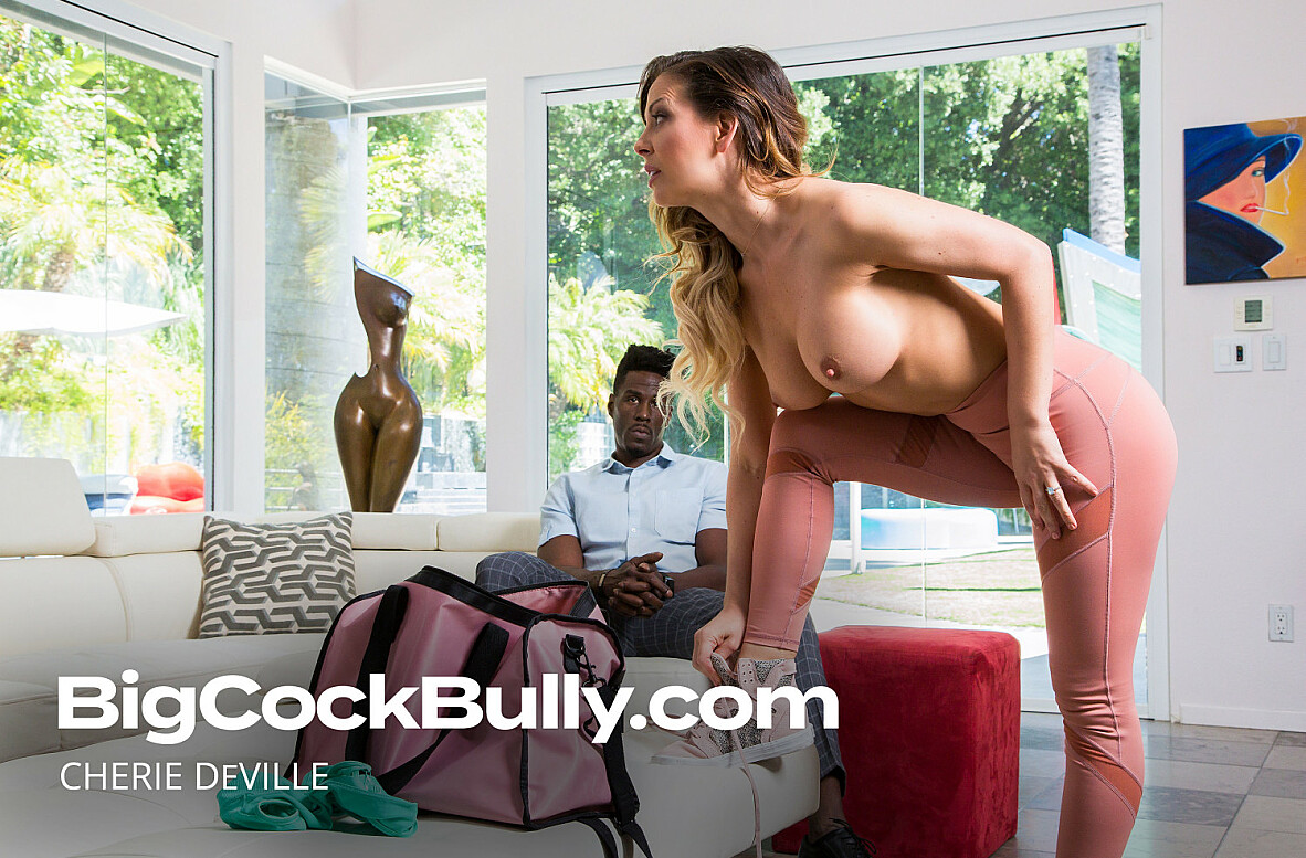 Watch Cherie DeVille and Jason Brown 4K video in Big Cock Bully