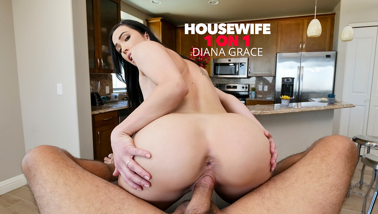 Diana Grace helps husband relieve stress before heading off to work