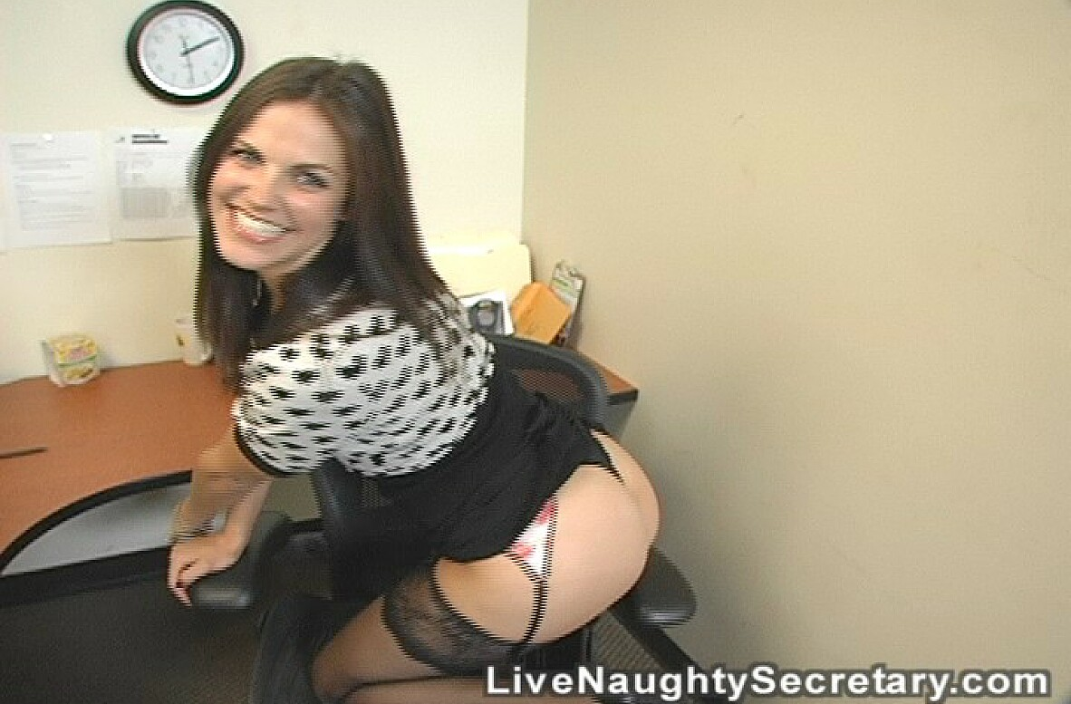 Watch Bobbi Starr video in Live Naughty Secretary