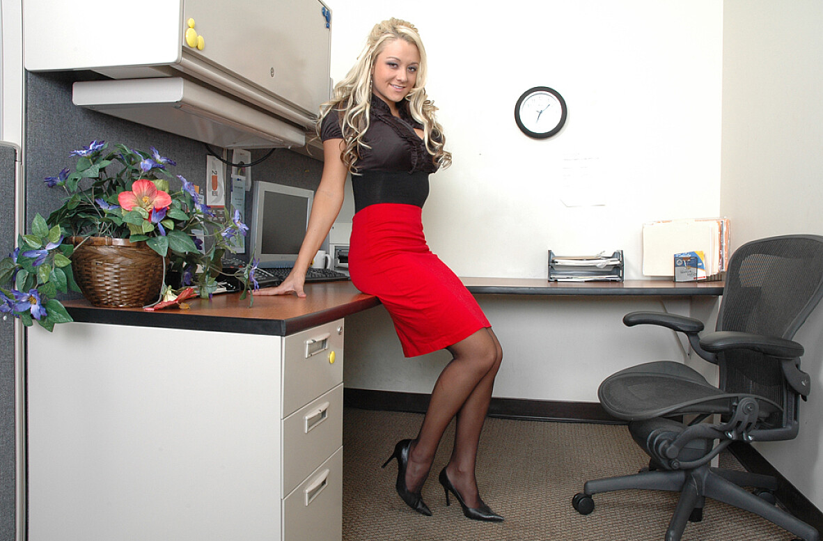 Watch Briana Blair video in Live Naughty Secretary
