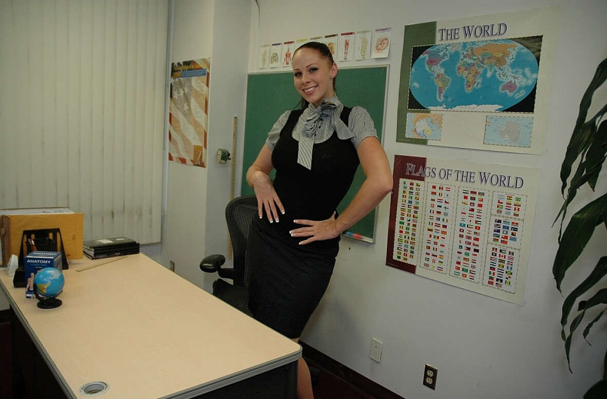 Watch Gianna Michaels video in Live Naughty Teacher