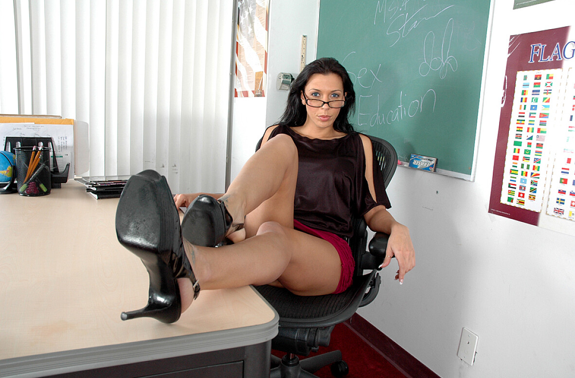 Watch Rachel Starr video in Live Naughty Teacher