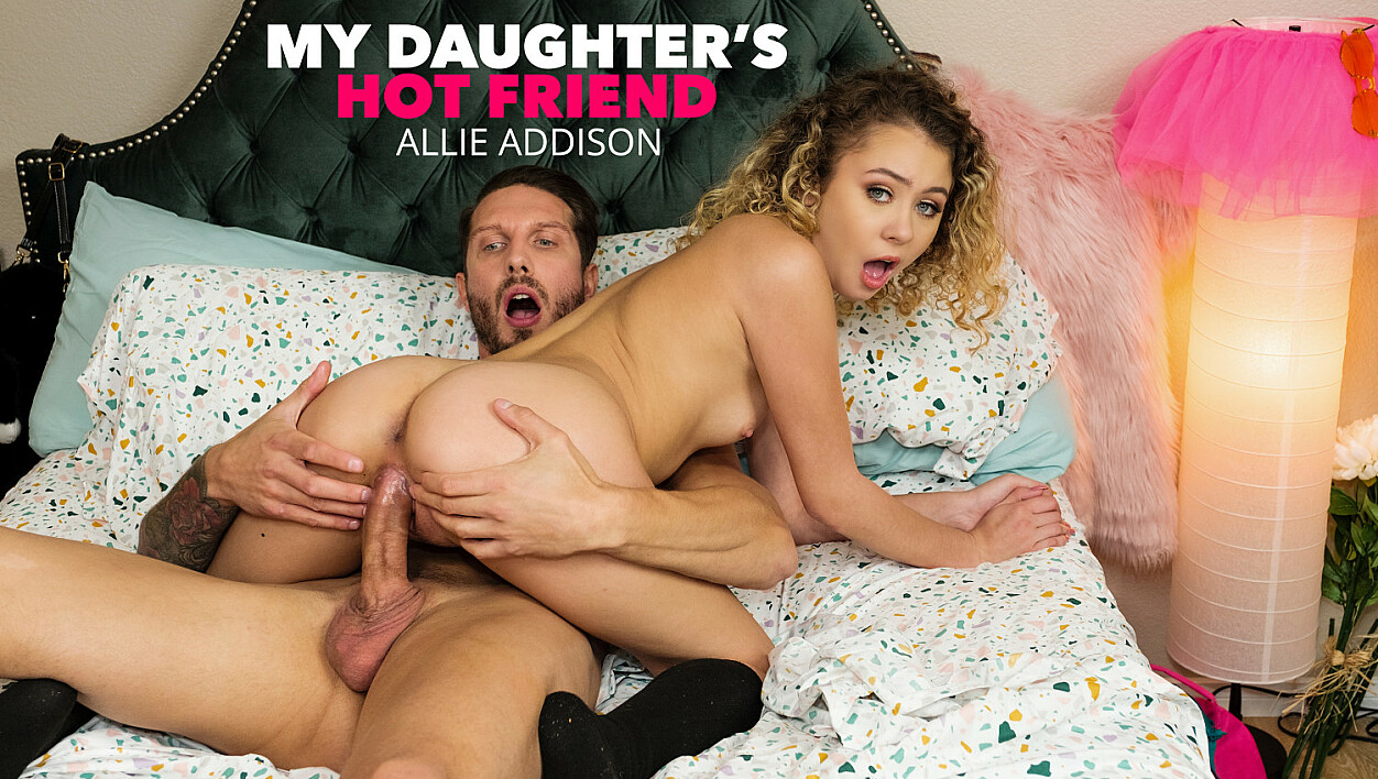 Allie Addison loves to ride big daddy cock