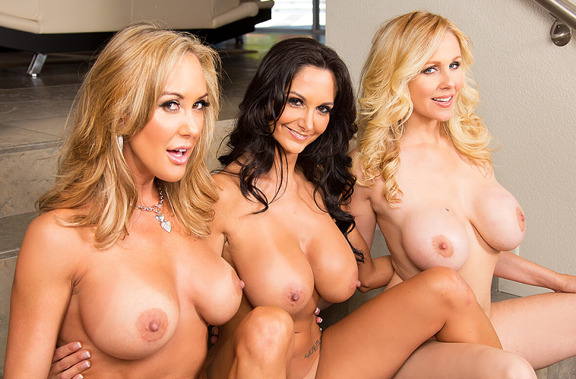 Watch Ava Addams, Brandi Love, Julia Ann and Mr. Pete video in My Friend's Hot Mom