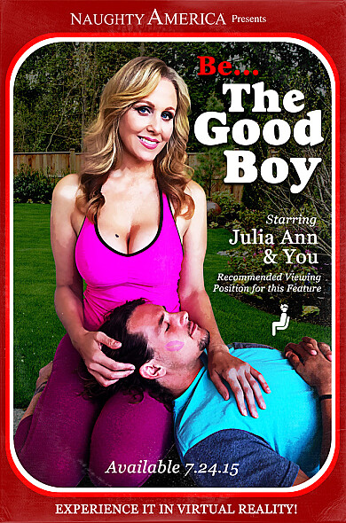 Julia Ann rewards a good boy with a really good cock ride!