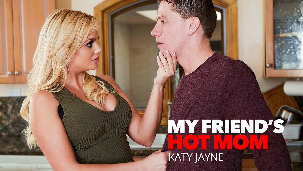 Euro MILF babe Katy Jayne gets fucked by her son's friend