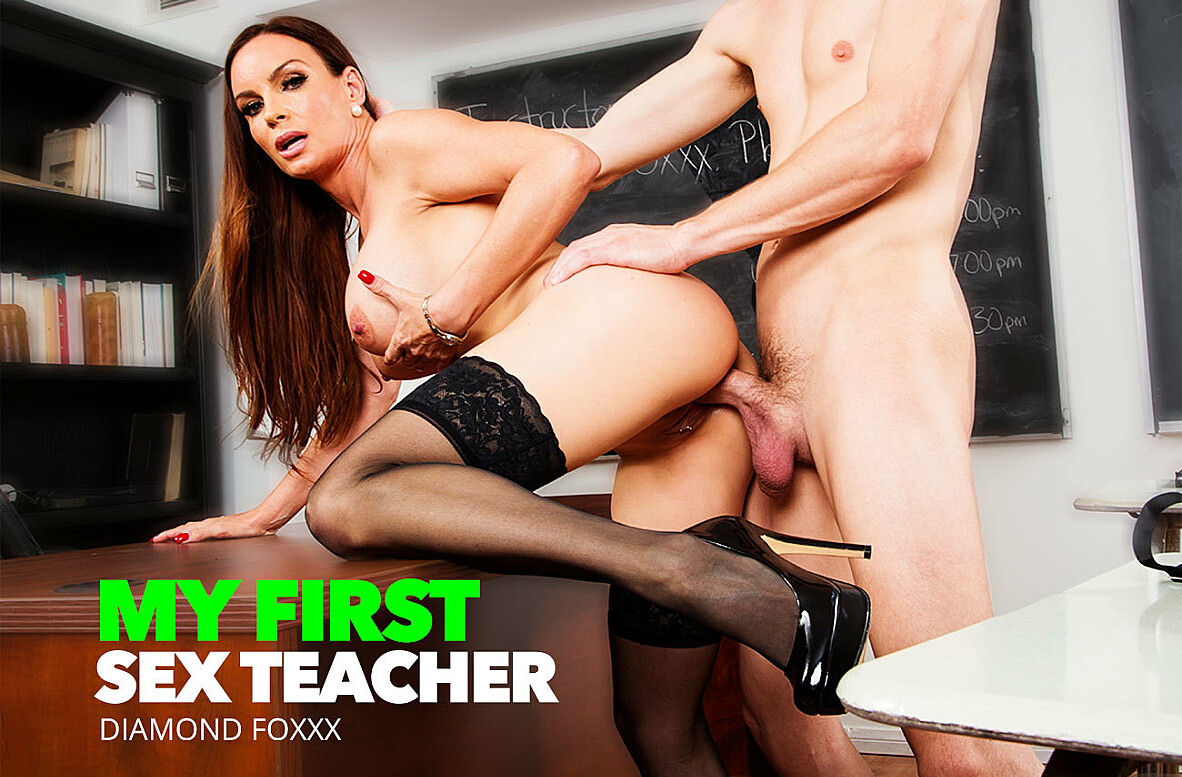 Watch Diamond Foxxx and Rion King 4K video in My First Sex Teacher