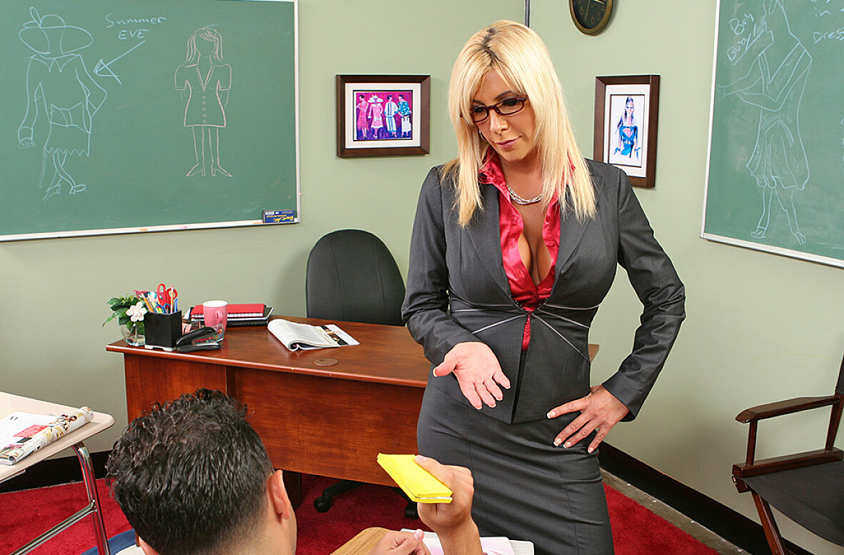 Watch Misty Vonage and Mikey Butders American video in My First Sex Teacher