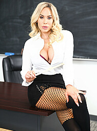 Teacher Porn Video with American and Ball licking scenes