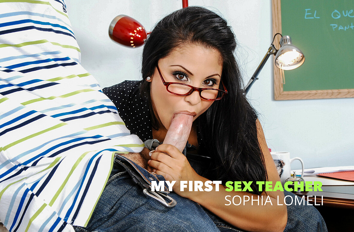 Watch Sophia Lomeli and Jordan Ash American video in My First Sex Teacher