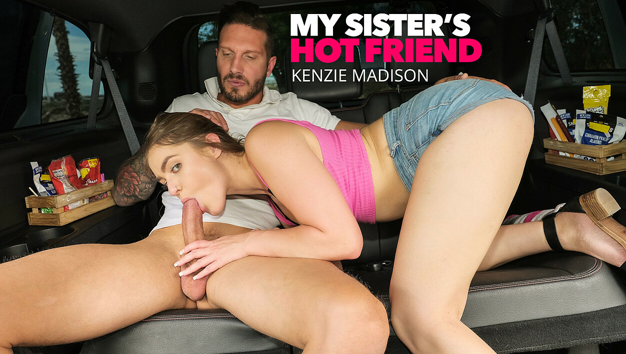 Kelly Turner (Kenzie Madison) gets fucked in the back seat