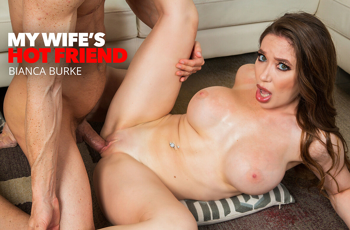 Watch Bianca Burke and Ryan Mclane 4K video in My Wife's Hot Friend