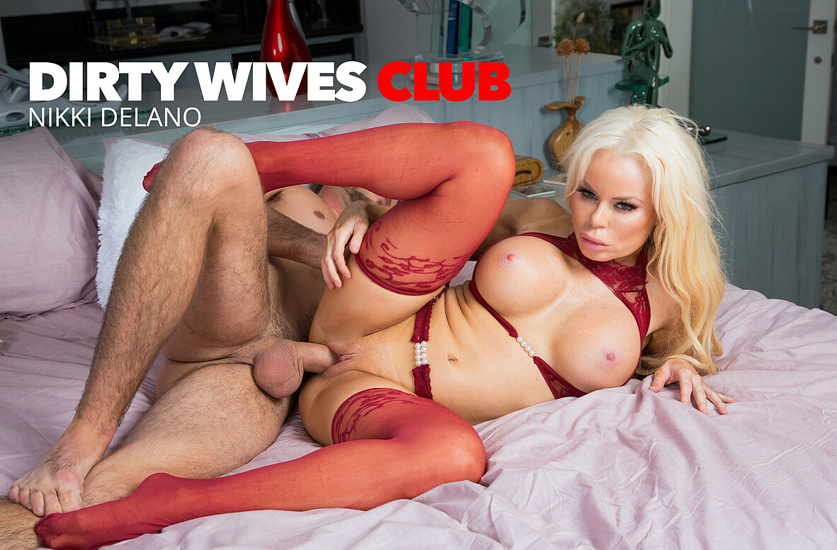 Watch Nikki Delano and Lucas Frost 4K video in Dirty Wives Club