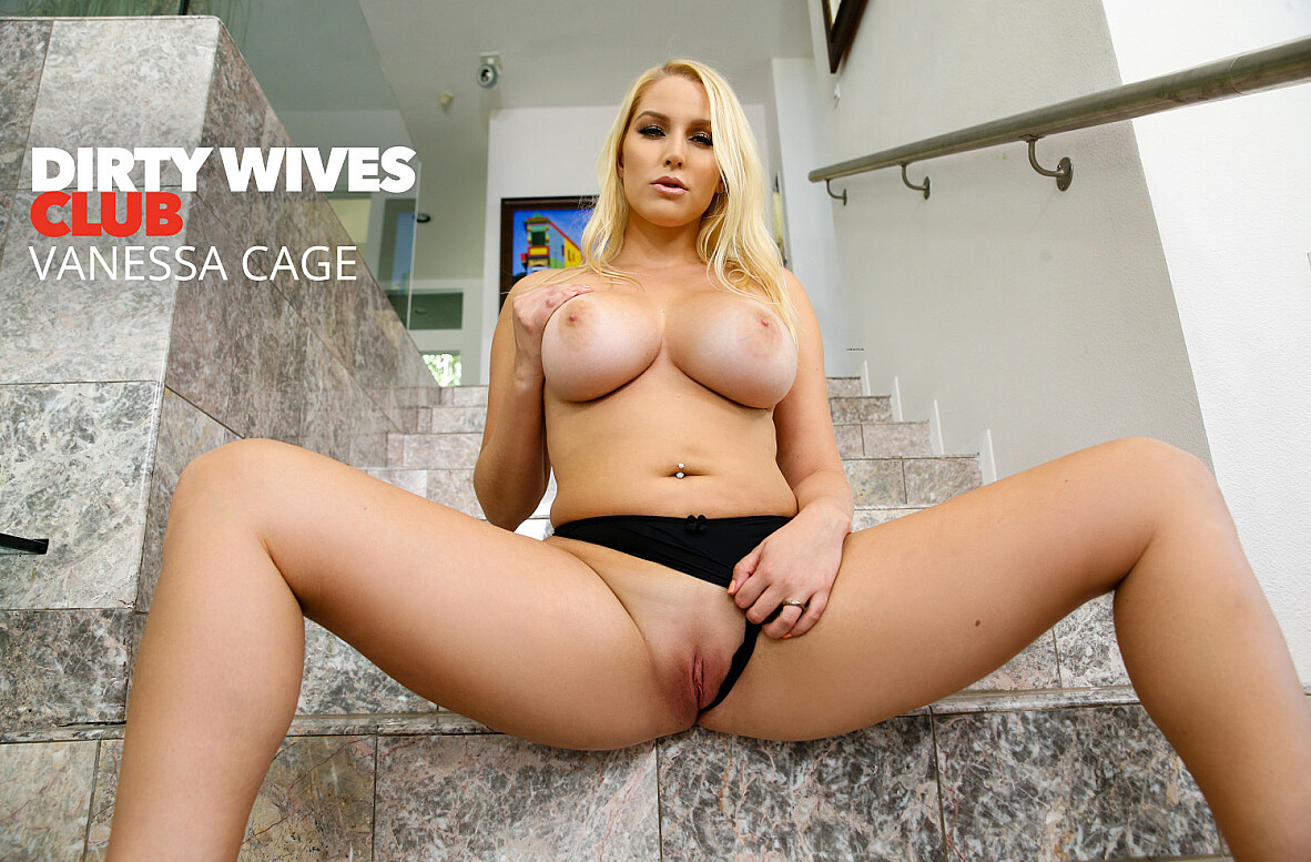 Watch Vanessa Cage and Stirling Cooper 4K video in Dirty Wives Club