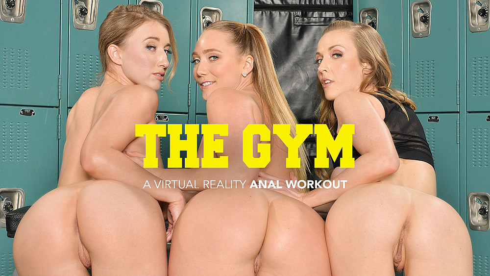 Click here to play AJ Applegate, Karla Kush, and Riley Reyes takes their trainers cock in their ass VR porn