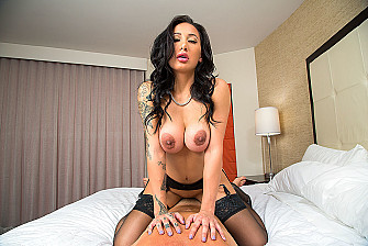 Amia Miley Rides Your Cock  - Sex Position 3